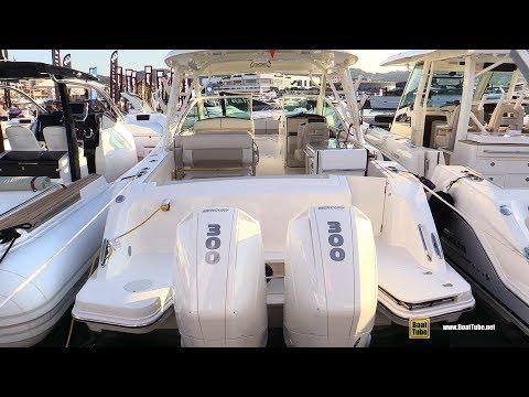 2019 Boston Whaler 320 Vantage Fishing Boat - Walkaround - 2018 Cannes Yachting Festival