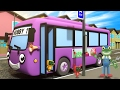 Wheels On The Bus With Bobby The Bus | Gecko's Garage