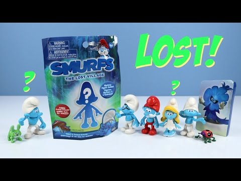 Smurfs The Lost Village Mystery Figure Packs With Codes SPOILERS