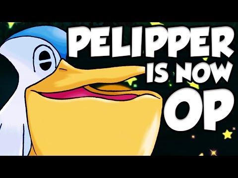 DRIZZLE PELIPPER OP! Pokemon Sun and Moon NEW Pelipper Guide!