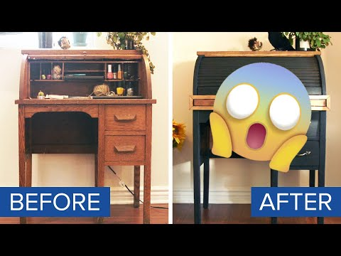 We Tried To Upcycle A 100-Year-Old Desk