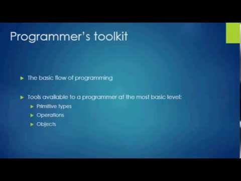 Lecture 1: What are objects, classes, primitive types.