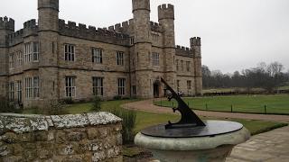 Обзор замка Лидс в Англии