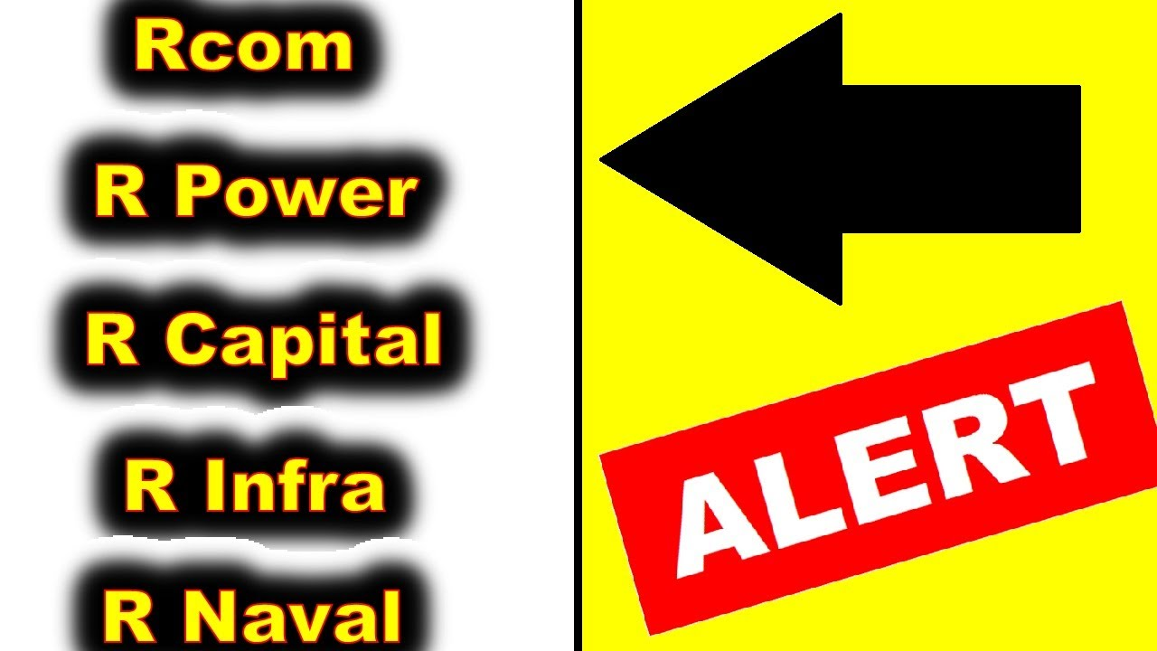 Download Rcom ⚫ R Capital ⚫ R Power ⚫ R Infra⚫ RELIANCE COMMUNICATIONS JIO LATEST NEWS🔥Retail Investors ALERT