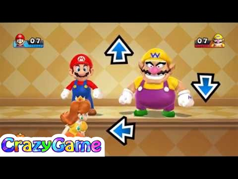 Mario Party 9 Step It Up #92 (Free for All Minigames)