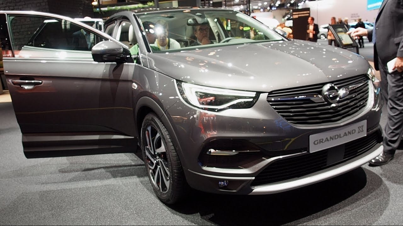 The all new opel grandland x 2018 in detail review for Interior opel grandland x