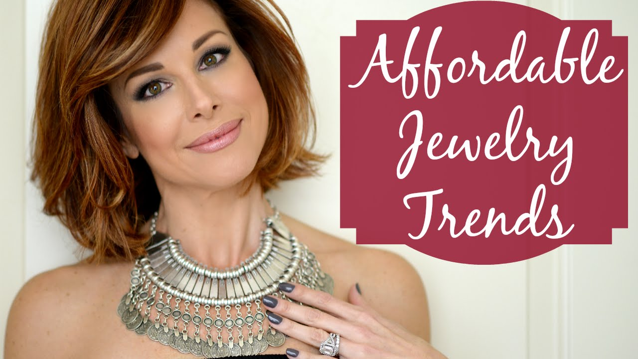 Affordable Jewelry Trends I Love Youtube