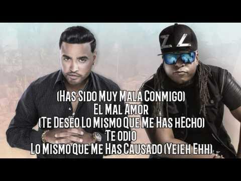 Te Deseo El Mal (Letra-Original Audio) Cosculluela Ft Zion Y Lenox