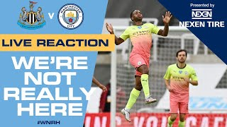 Live Reaction | Newcastle 0-2 Man City | Holders Through To Semi Final