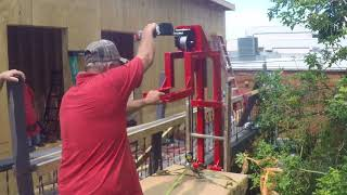 EZ-AC Lift : (Real Time) Gear Mechanism In action