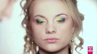 Вечерний яркий макияж(, 2013-10-17T21:08:15.000Z)