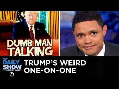 Trumps Weird One-on-One with George Stephanopoulos | The Daily Show