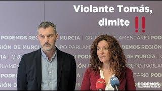 Exigimos la dimisión de Violante Tomás como Consejera de Familia