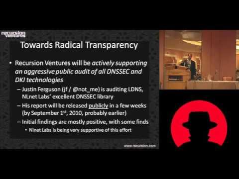 Blackhat 2010  - Dan Kaminsky - Black Ops of Fundamental Defense
