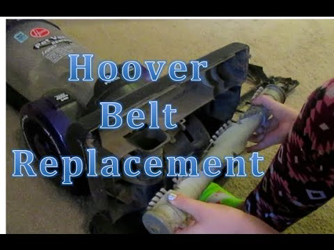 how to change belt on hoover sprint