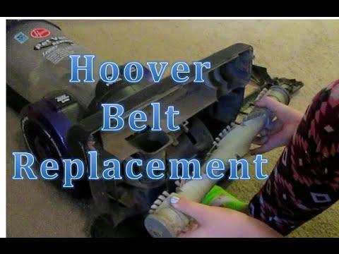 How Do I Change My Hoover Upright Vacuum Belt Repaclement