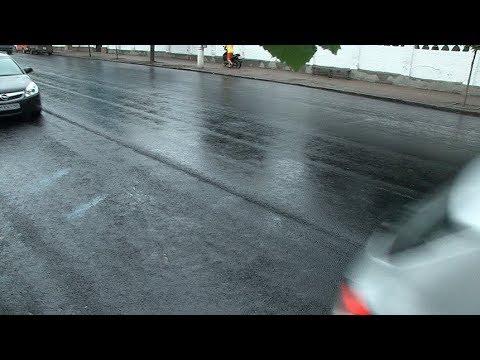 Виконком розкритикував якість нового асфальтобетонного покриття по вулиці Перемоги в Житомирі