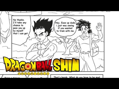Dragon Ball Shin! The newest Fan manga!...