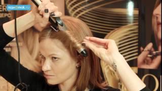 Прическа-трансформер для волос средней длины