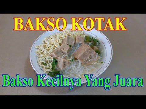 Bakso Kotak di Kota Bengkulu (Food Review)