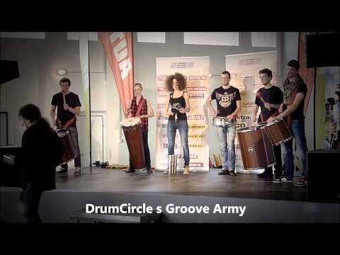 Groove Army & workshop DrumCircle pro Motor Presse Bohemia