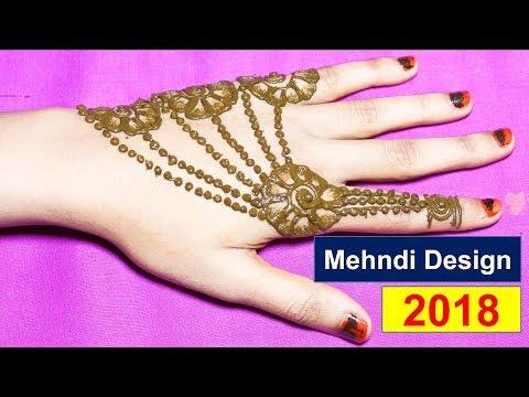 Easy Mehndi Designs For Hands Latest Mehndi Design 2018
