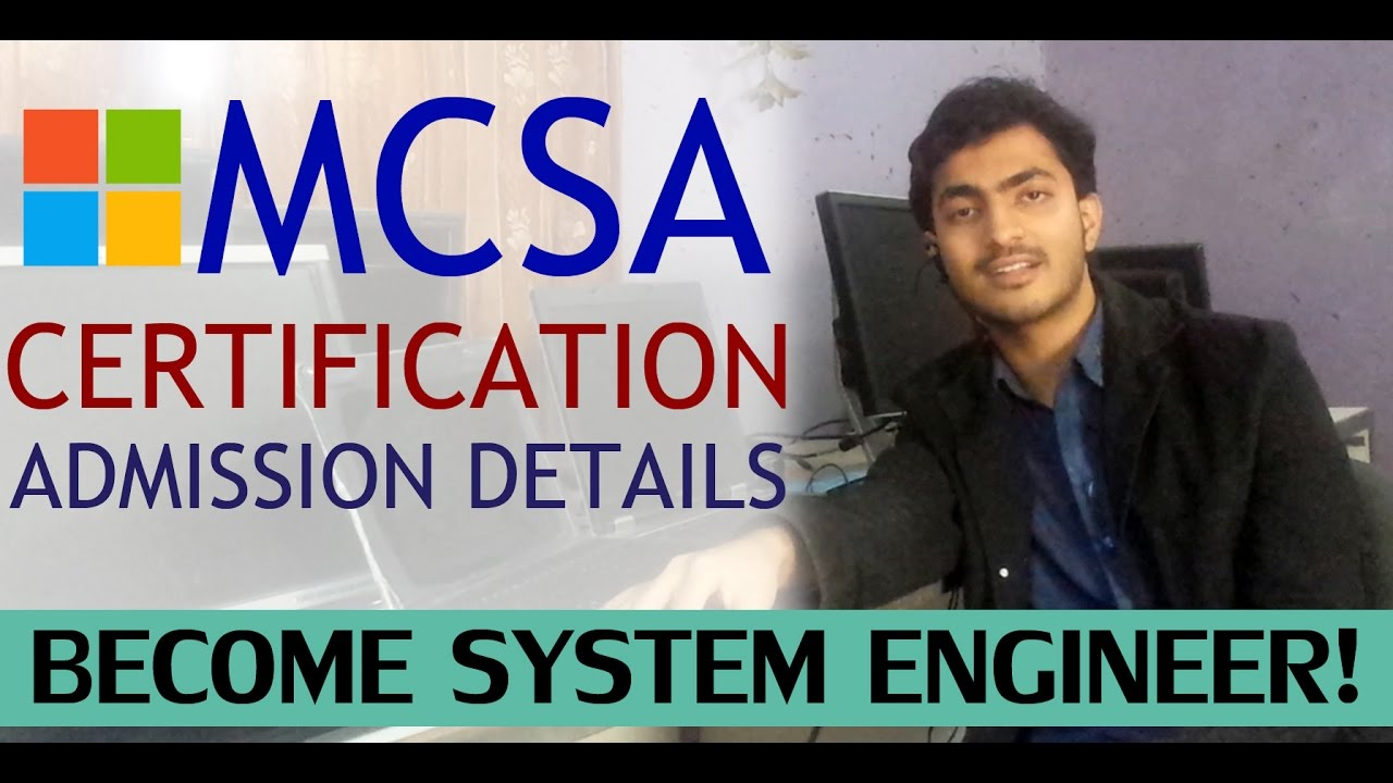 Mcsa Online Training Admission Certificate Urdu Hindi Youtube