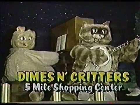 1984 Dimes n' Critters Pizza Spokane Commercial
