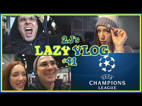 Πήγαμε Champions League! (Lazy Vlog #41)