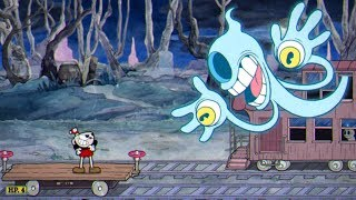 Cuphead: Phantom Express Boss Fight #17