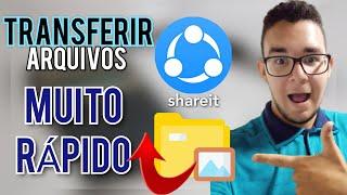 MELHOR APLICATIVO PARA TRANSFERIR ARQUIVOS NO CELULAR: SHAREit screenshot 2