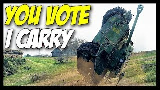 ► YOU VOTE, I CARRY! 💪 - World of Tanks Gameplay