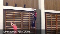 #yhdessäradalla Haapajärven yläaste