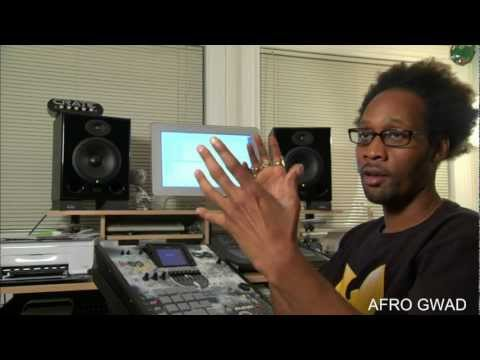 RZA IN STUDIO FOR AFRO SAMURAI RESURRECTION HIGH DEFINITION 1080P