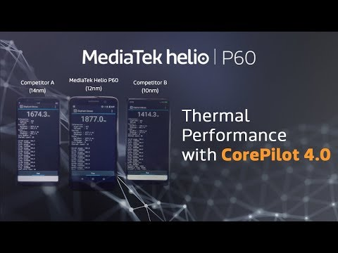 MediaTek Helio P60 Thermal Performance with CorePilot 4.0 |