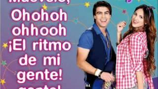 El Ritmo De Mi Gente - Sueña Conmigo - Con Letra - Eiza Gonzalez & Santiago Ramundo