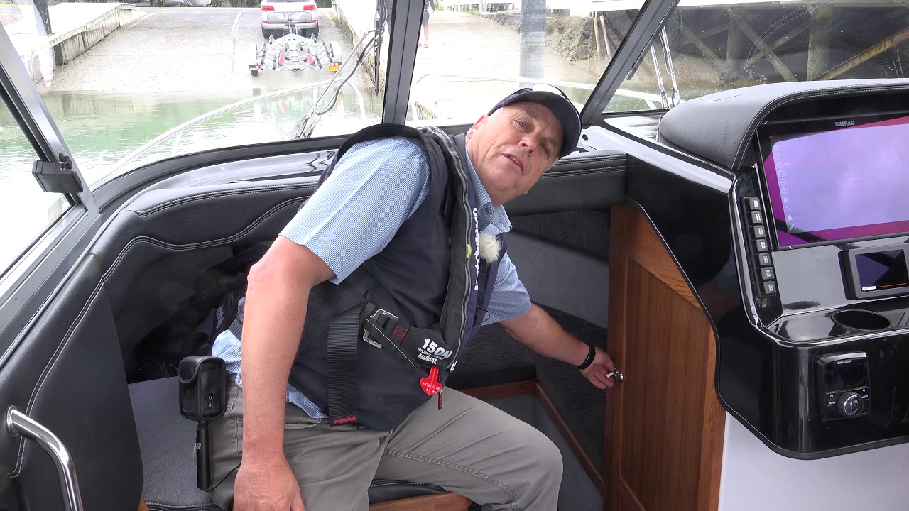 Haines Hunter SP725 ~ Boating NZ