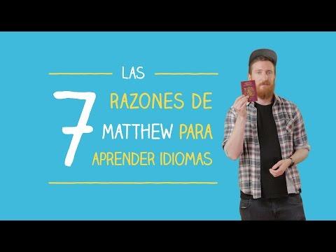 Las 7 razones de Matthew para aprender idiomas | Las voces de Babbel