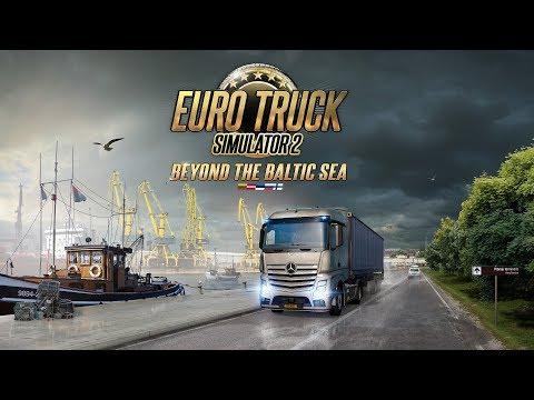 [4K] ETS2 - Beyond the Baltic Sea DLC Gameplay - Saint Petersburg (RU) to Daugavpils (LV)