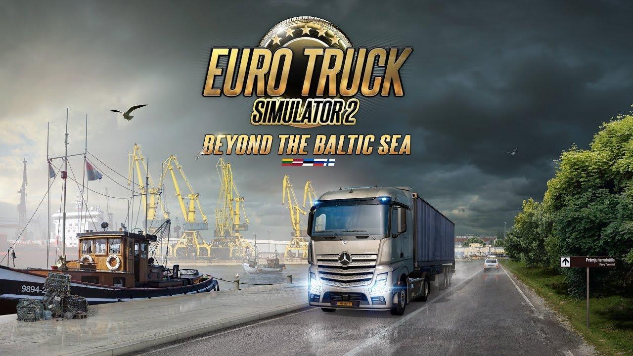 4k Ets2 Beyond The Baltic Sea Dlc Play Saint Petersburg Ru To Daugavpils Lv