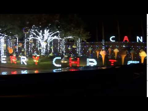 amazing christmas light display spring branch tx