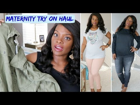 MATERNITY HAUL + TRY ON |  Destination Maternity, H&M, Target