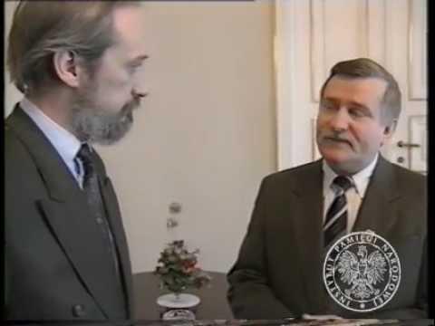 Wałęsa   Macierewicz 1992