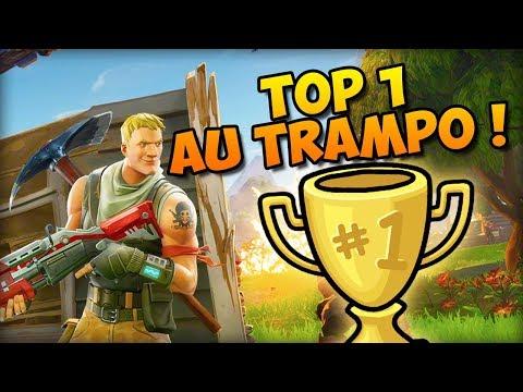 TOP 1 au trampoline ! | Fortnite