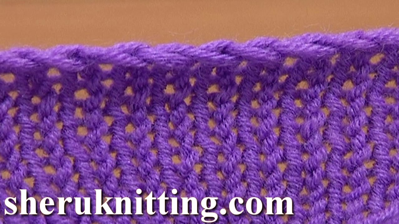 Binding Off In Knitting Casting Off Tutorial 7 Method 5 Of 12 Knit