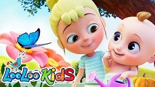 🌸A Flower in My Garden - LooLoo Kids Nursery Rhymes for Kids