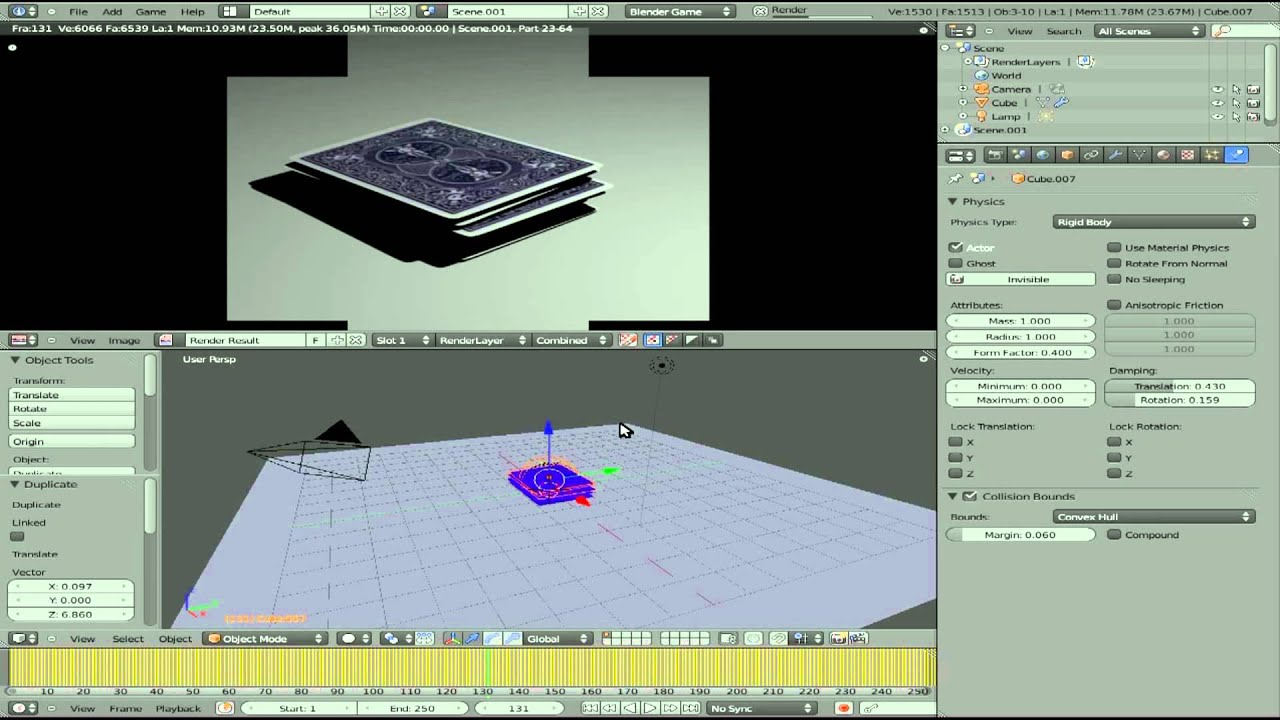 Double sided playing cards in blender 25 blender 3d youtube colourmoves
