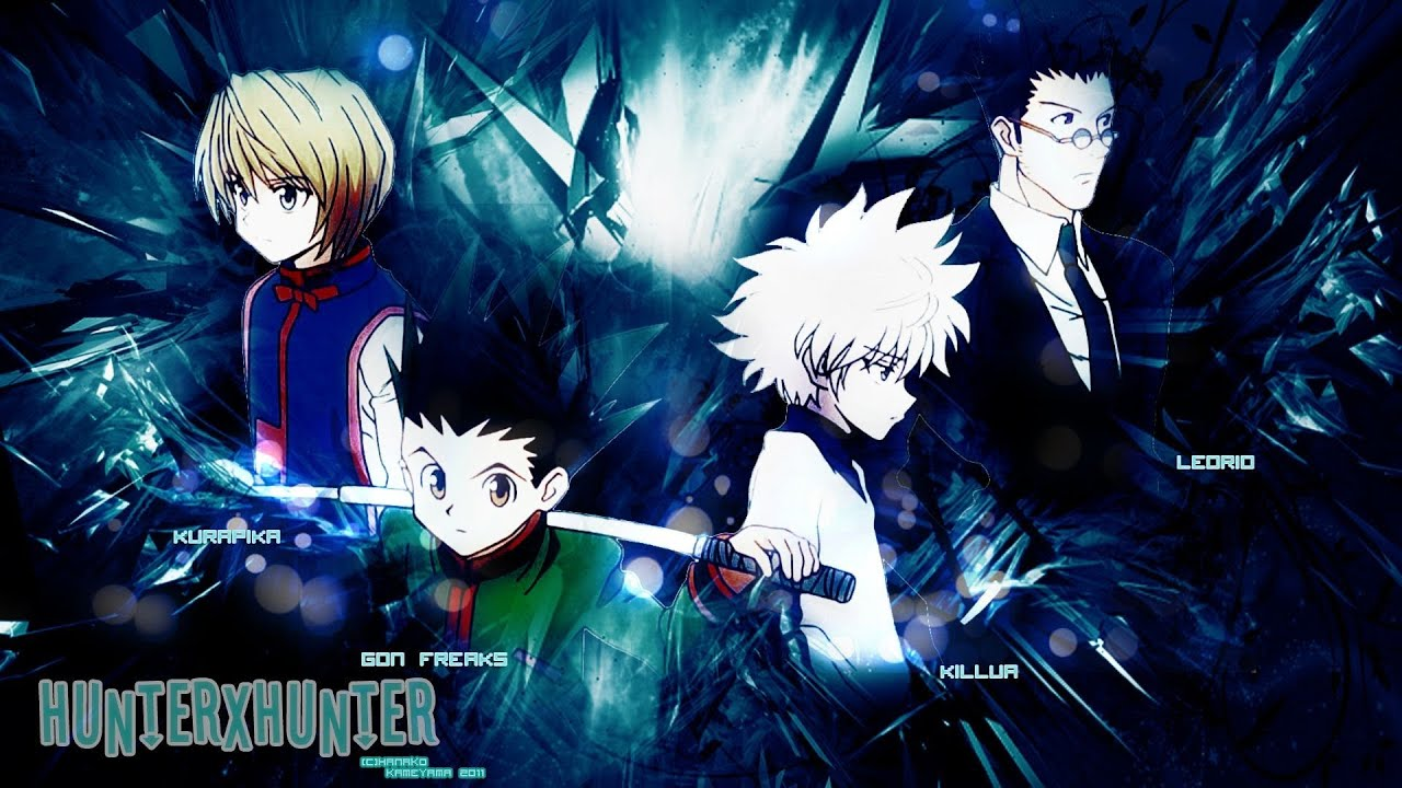 top 5 best hunter x hunter 2011 fight scenes youtube