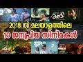 Top 10 Most Popular Malayalam Movies 2018 | 2018 ലെ മികച്ച 10 സിനിമകള്