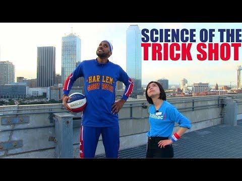 Jeff K - Harlem Globetrotters Epic Trick Shots Atop Dallas' Perot Museum